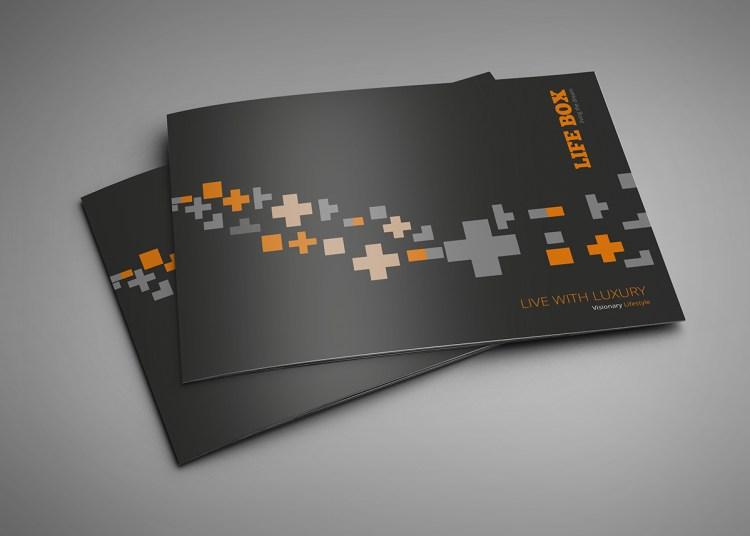 Matt Laminated Landscape Brochure Printing