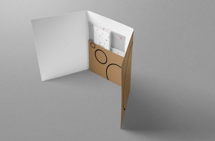 Recycled Printed Folders