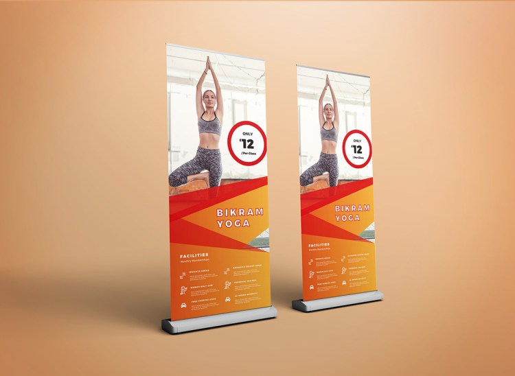 Multiple Roller Banner Pop Up Banner