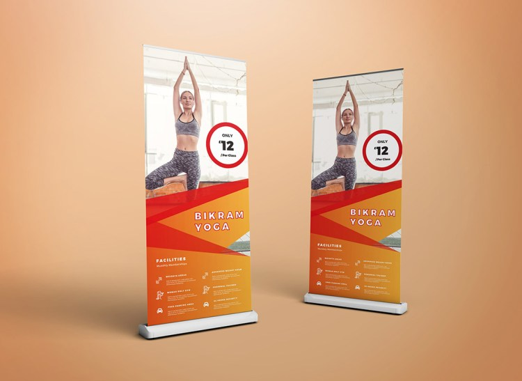 2000mm Roller Banner Pop Up Banner