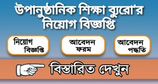 Bureau of Non-Formal Education Job Circular 2020