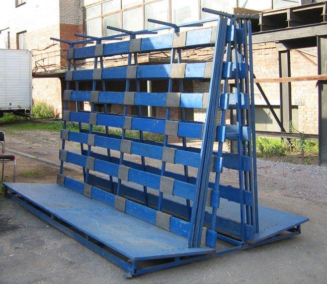 Пирамида для перевозки стекол и стеклопакетов