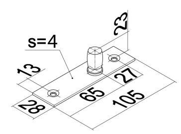 Верхняя ось T-133 SSS чертеж 1