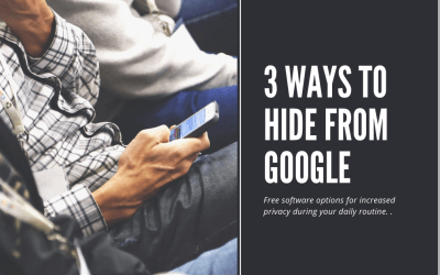 3 Ways to Hide From Google