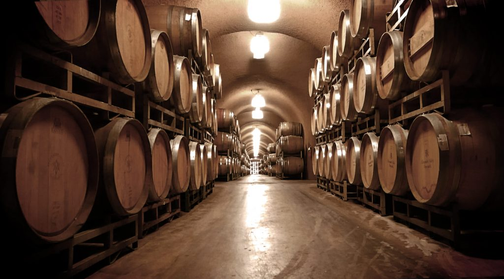 Alexander Vineyard, Sonoma Wine Cave Tour