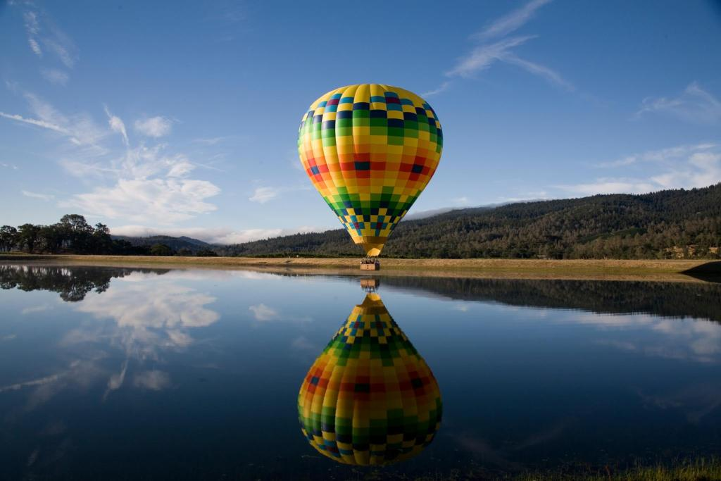 Hot Air Ballooning in napa Valley