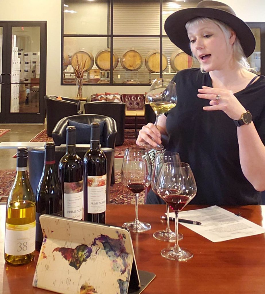 Schedule a virtual wine tasting with the winemakers or owners