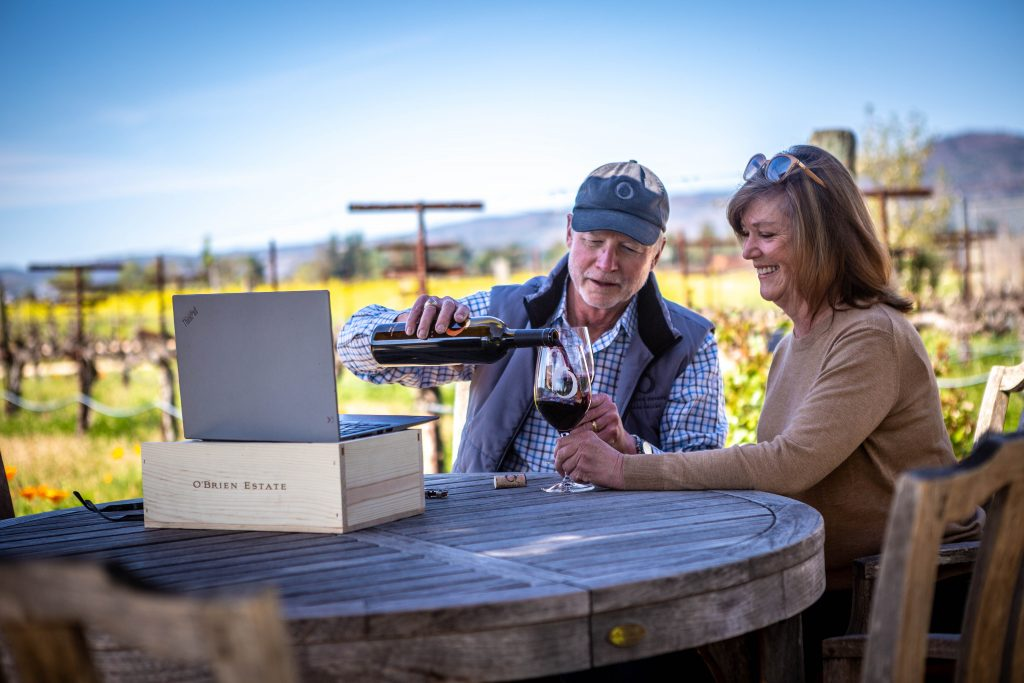 O'Brien Estate Virtual Wine Tasting