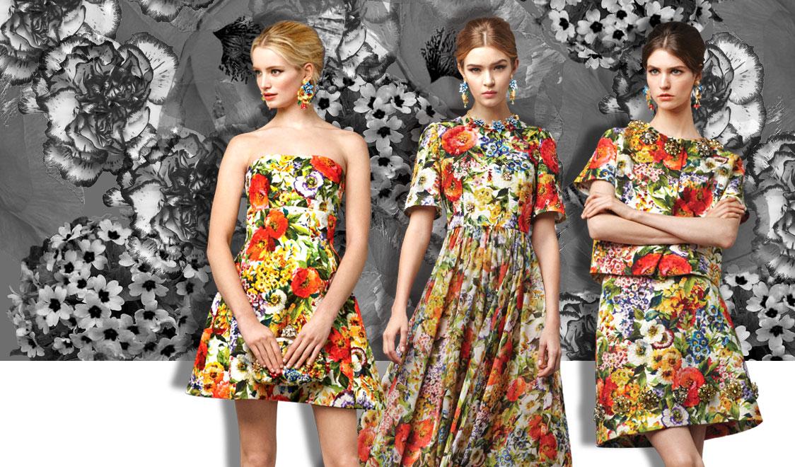 Classic Floral Prints – I