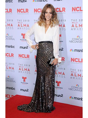 Jessica Alba at Alma Awards Sept, 2013