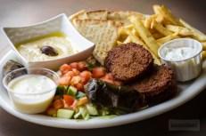 Bananas Grill - Falafel Plate