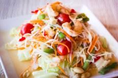 Erawan Bangkok - Papaya Salad