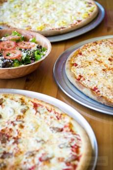 Tony Maroni's - Hawaiian Pizza, Sausage Pizza, Cheese Pizza and Greek Salad