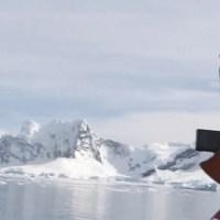 Ovni filmado pela expedição Norueguesa na Antárctida - Janeiro 2016