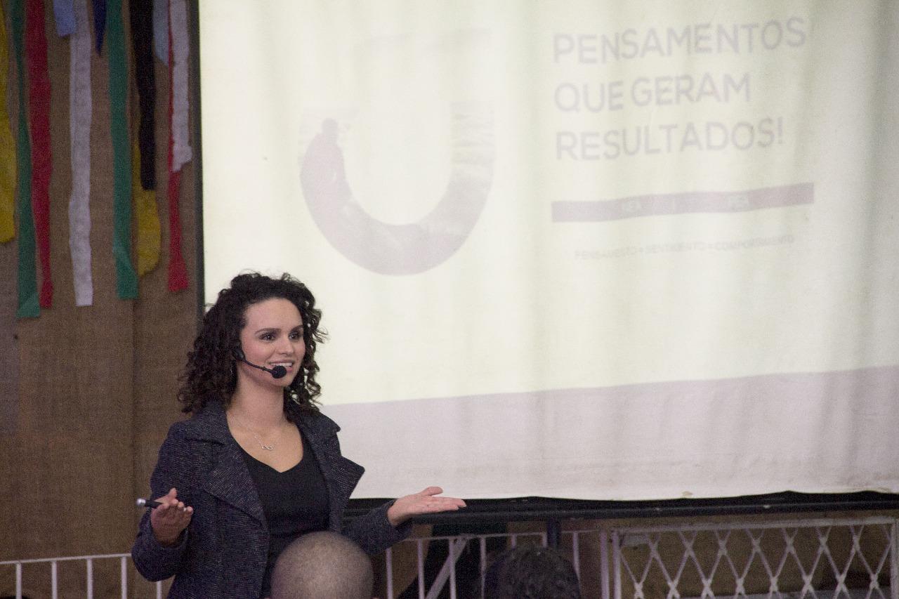 Eu sou o presidente - Faculdade Itaquá - Priscila Guskuma
