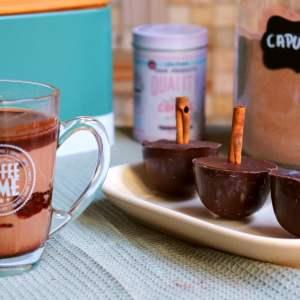 Imagem cappuccino caseiro