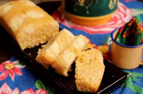 imagem bolo com bagaço de milho