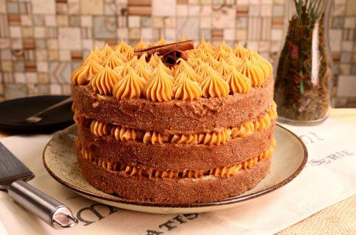 imagem naked cake churros