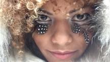 Blonde eyes