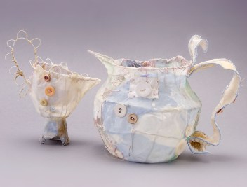 Priscilla Jones Creamer,2006, Milk Jug 2006,