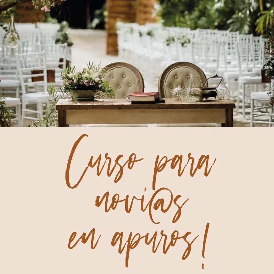 Curso para novias y novios en Apuros impartido por Priscilla Wedding Planner Tenerife