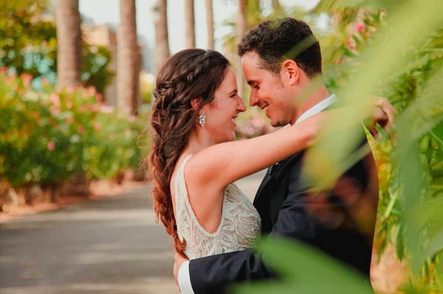 Sonsoles-&-David Boda Coordina por Priscilla Salazar wedding Planner Tenerife mometo emotivo de la nvia y el novio