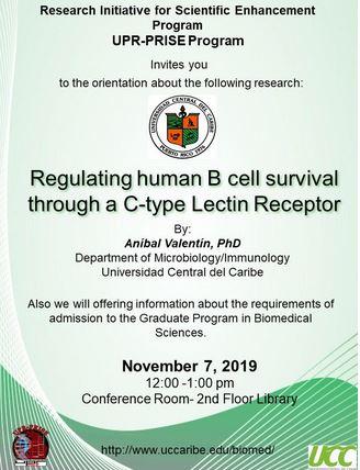 Universidad Central del Caribe - Research Talk & Graduate Program