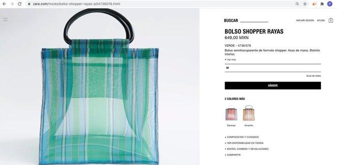 Así como las de nuestras abuelitas: Zara vende bolsas para el mandado y el internet no perdonó