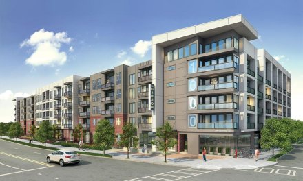 LP FlameBlock Fire-Rated OSB Sheathing specified for multifamily project
