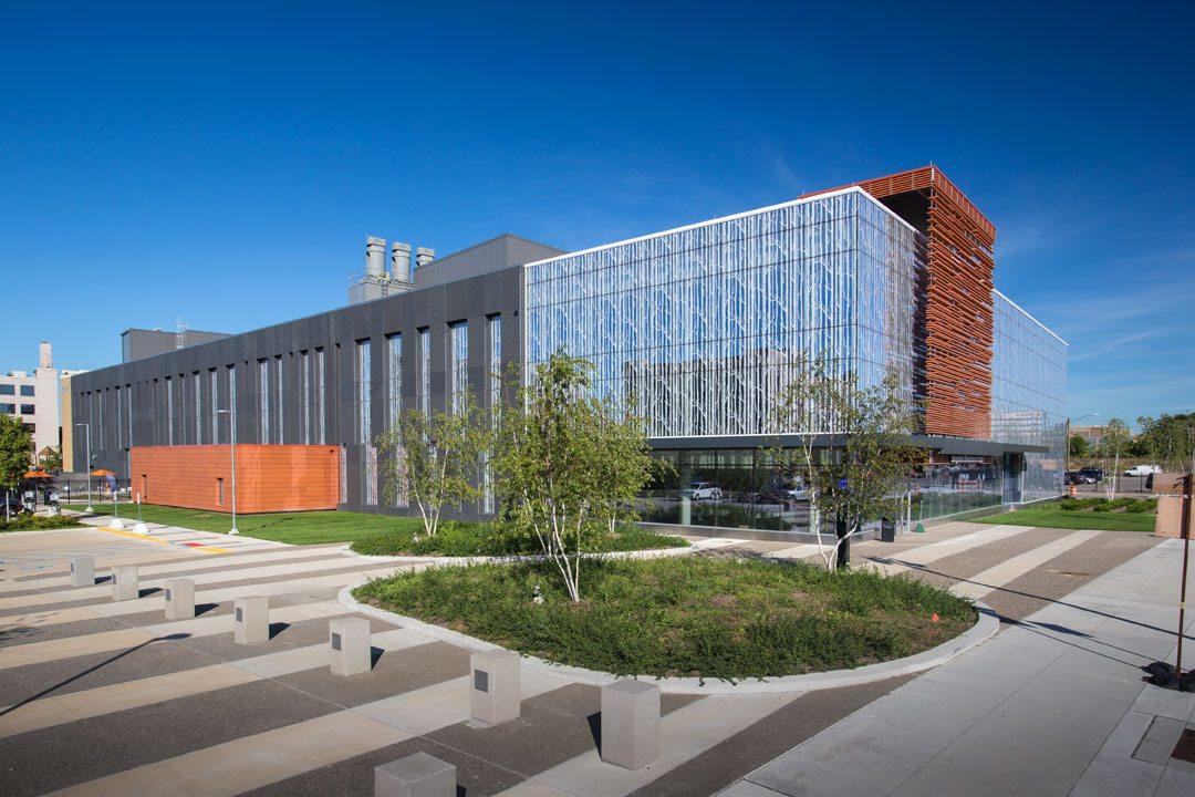 Wayne State University's Integrative Biosciences Center (IBio). Photo: © John Lacy Photography