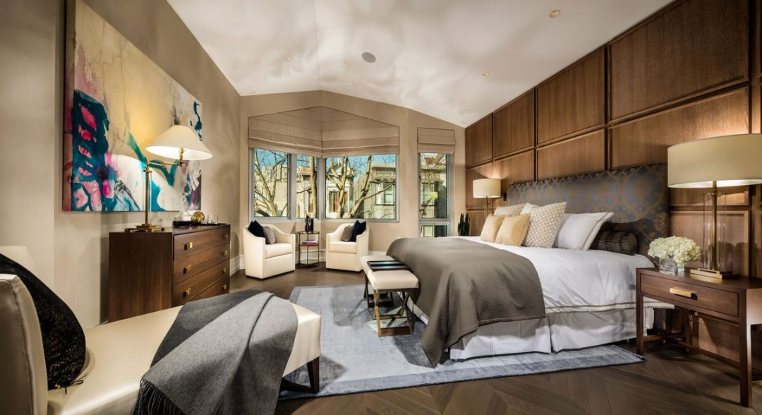 Master bedroom at the Pacific. Courtesy of Christopher Mayer Photography