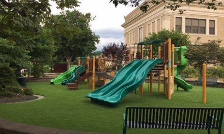 Residents give Friendship Play Park a facelift