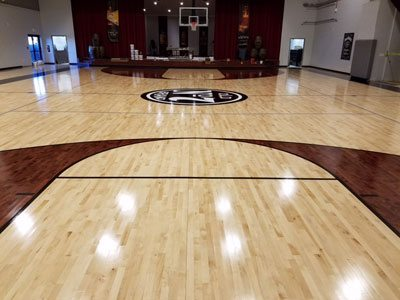 The Jack Daniels Employee Resource Center after the refinishing project. Courtesy of Jack Daniels.