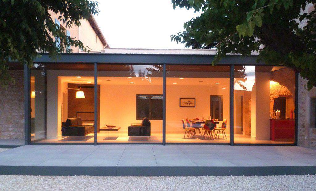 Maison Z in Baron, France. Photography: © Gil Percal Architecte