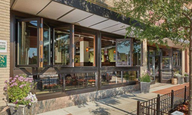 Historic building updates storefront with Kolbe Folding Windows