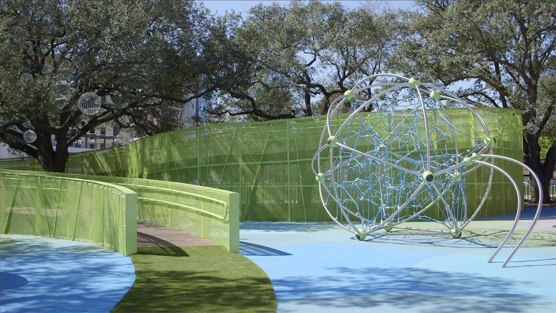 Burton Construction transforms Levy Park into world-class urban space
