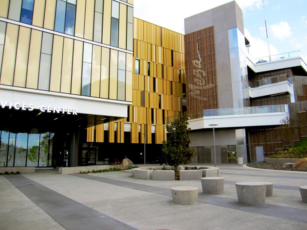 Mesa Community College Student Services Center, San Diego, Calif. Photo© HGW Photography