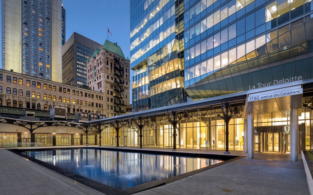 Deloitte Tower, first LEED Platinum-certified office building in Montreal