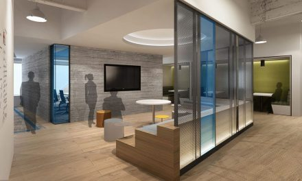 M Moser Architects PLLC creates a new agile workplace for Blackstone's Bxii team