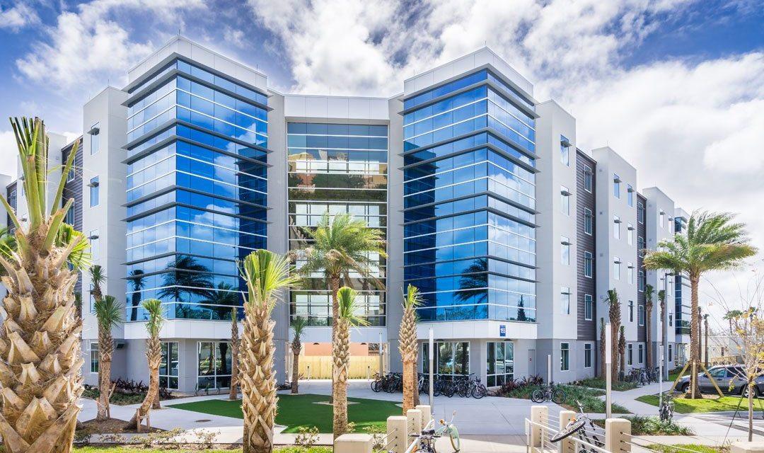 Embry-Riddle Aeronautical University's new student residence