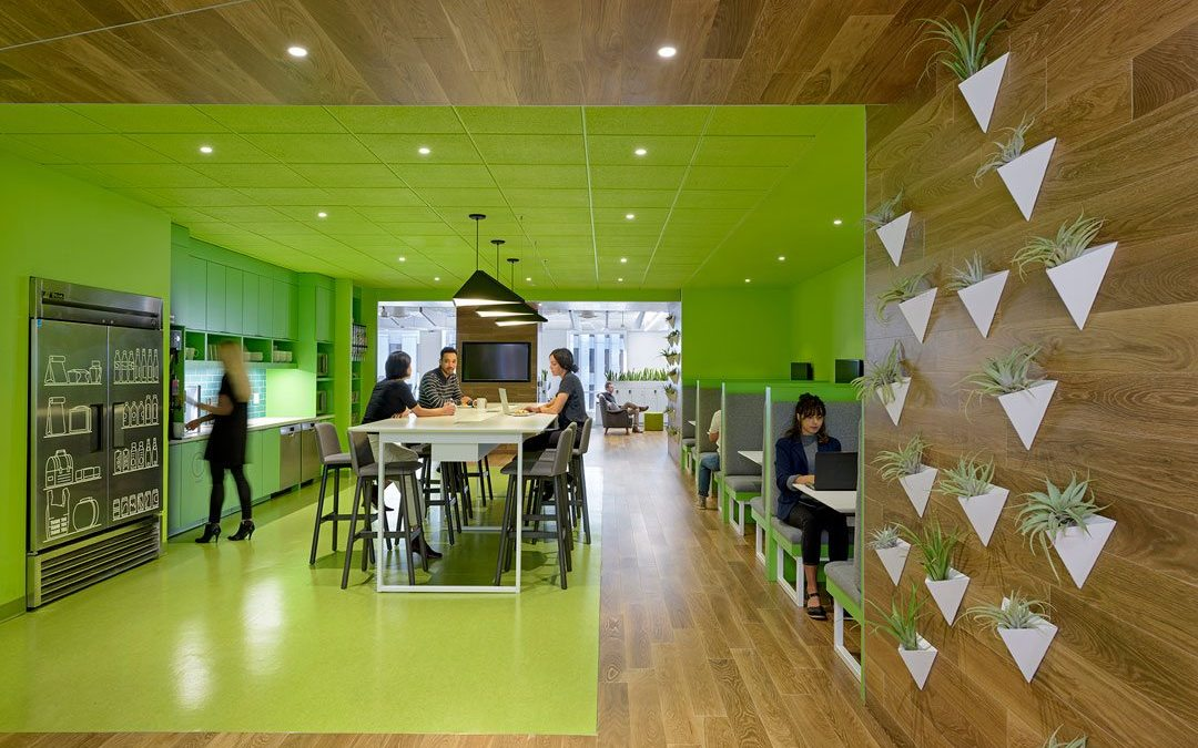 New Relic's innovative culture realized in colorful new office designed by M Moser