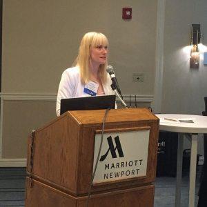 Angel Dickson speaking at AAMA National Summer Conference workshop