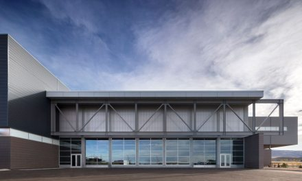 Pathways Innovation Center and Roosevelt High School feature EXTECH custom sunscreen and translucent façade
