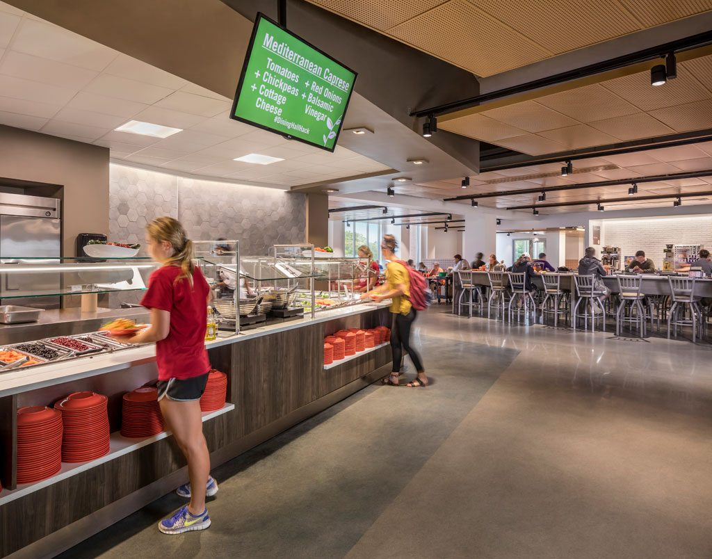Clemson University Core Campus Dining Facility. Photo: © Jonathan Hillyer