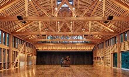 Inside the New Studio at Jacob's Pillow Dance by Flansburgh Architects
