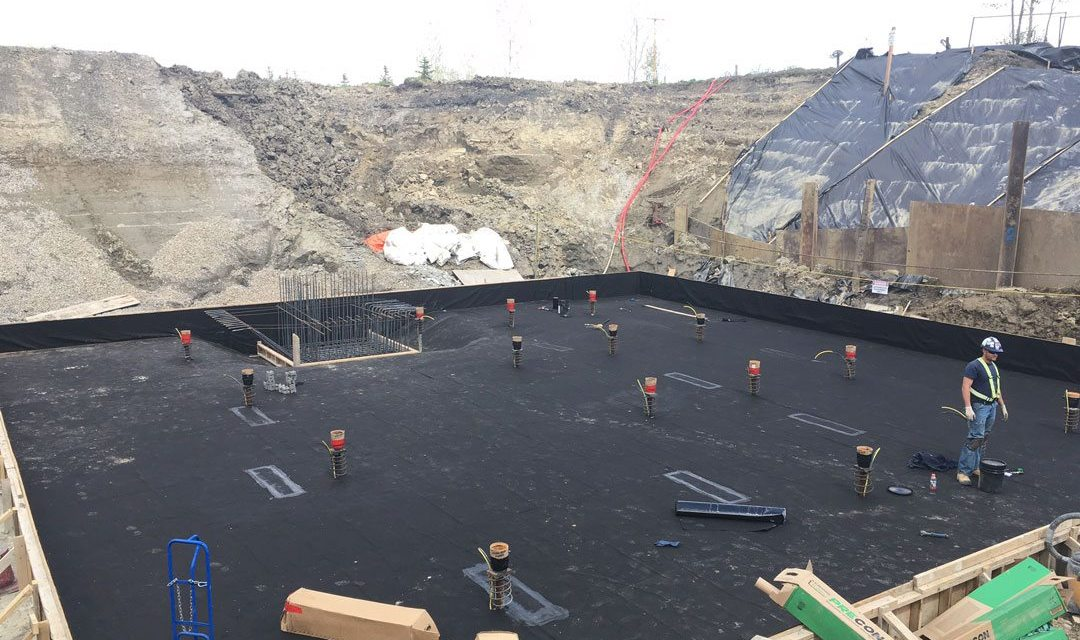 Lacombe Lift Station Concrete Waterproofing Project
