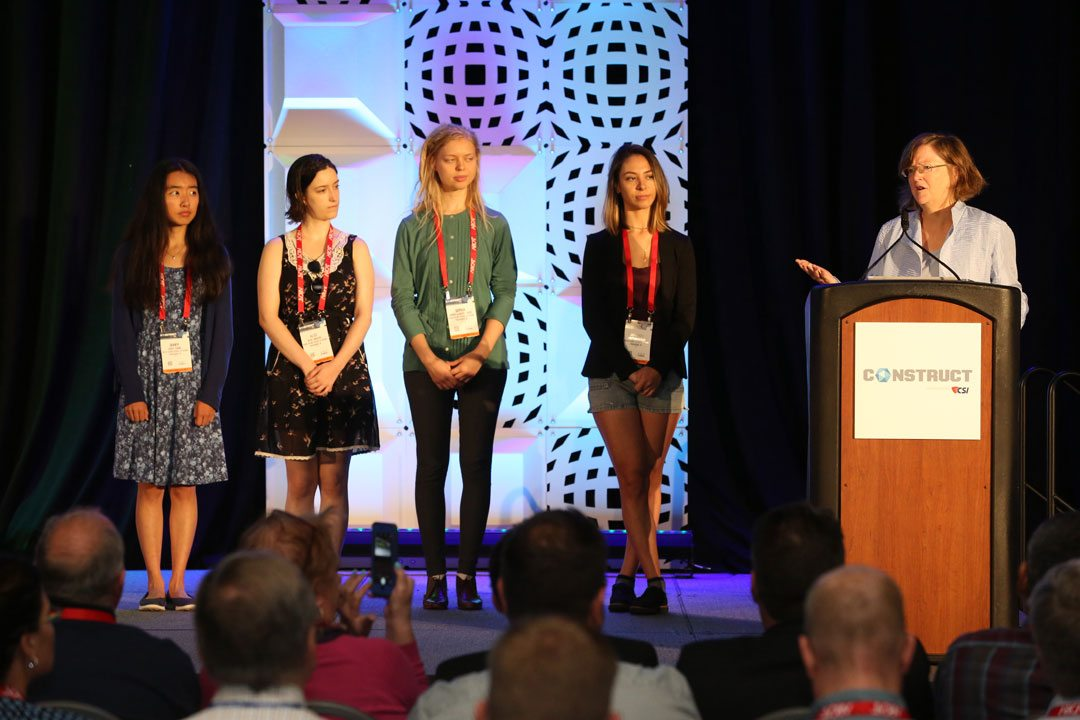 The highlights of the general session included an appearance by Laura Briggs, Dean of Architecture at the Rhode Island School of Design and a few of her students, as she described upcoming RISD projects.