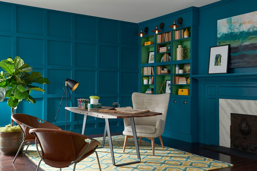Sherwin-Williams 2018 Color of the Year Oceanside