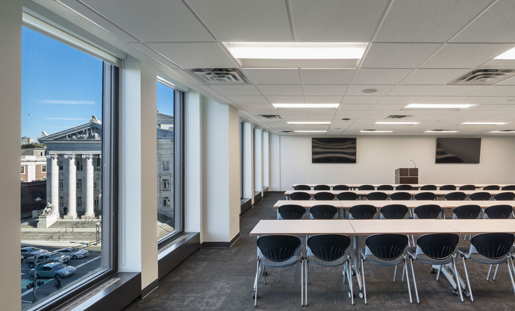 Credit: Woodruff/Brown Architectural Photography, courtesy of Apogee Enterprises, Inc., Building Retrofit Strategy Team