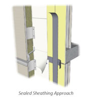 Sealed Sheathing Approach